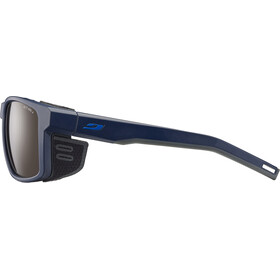 Julbo Shield Alti Arc 4 Sunglasses Blue/Black/Blue-Brown Flash Silver
